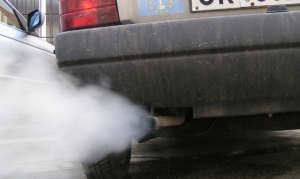 Driving Through Plumes of Exhaust